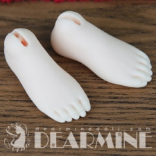 DL Girl foot parts (Flat)