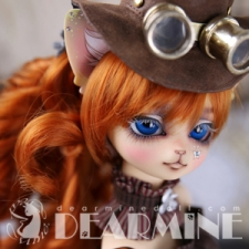 ANGELA Mlik tea skin ~Antique gear~